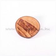 Rusztikus fa gyűrű No15